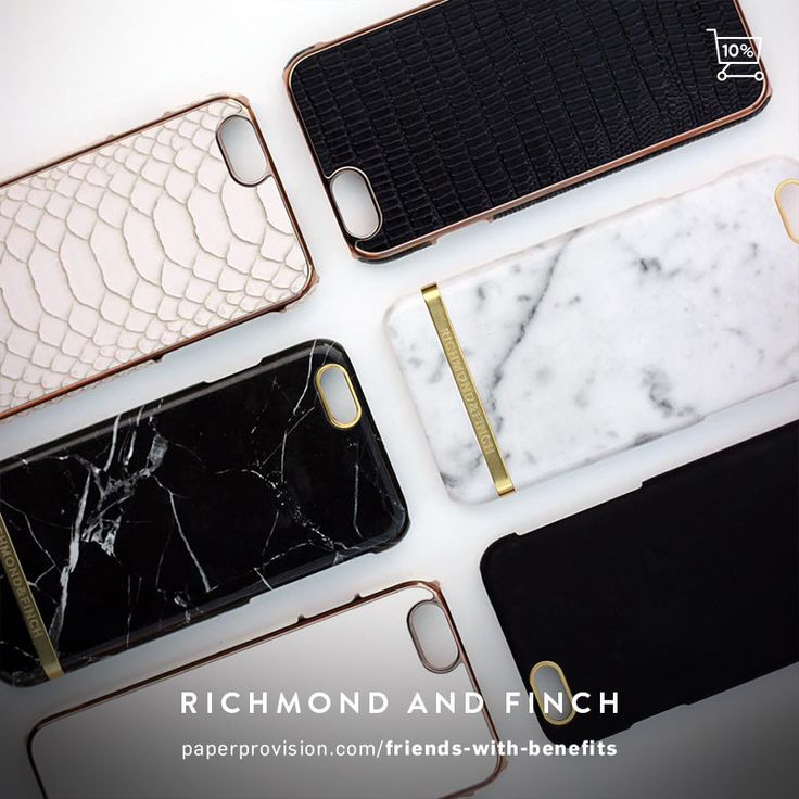 10% OFF Richmond & Finch cases when you sign up to our chic list: https://paperprovision.com/signup/ Offer ends March 31st, 2017.