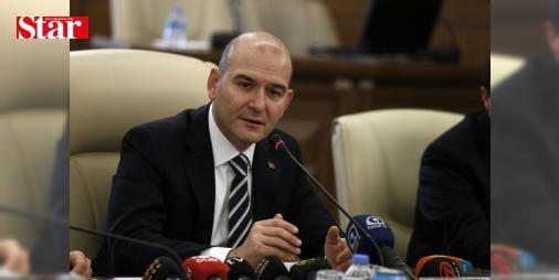 Bakan Soylu'dan ABD Büyükelçisine kayyum eleştirisi: İçişleri Bakanı Süleyman Soylu ABD Ankara Büyükelçisinin 'kayyum atamalarını doğru bulmuyorum' açıklamasına tepki gösterdi.
