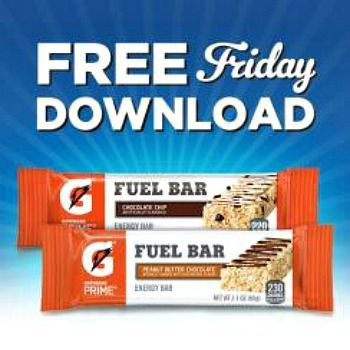 On July 28, snag this week's Fry's FREE Friday Download for one FREE Gatorade Sports Nutrition Bar! Redeem by August 13.