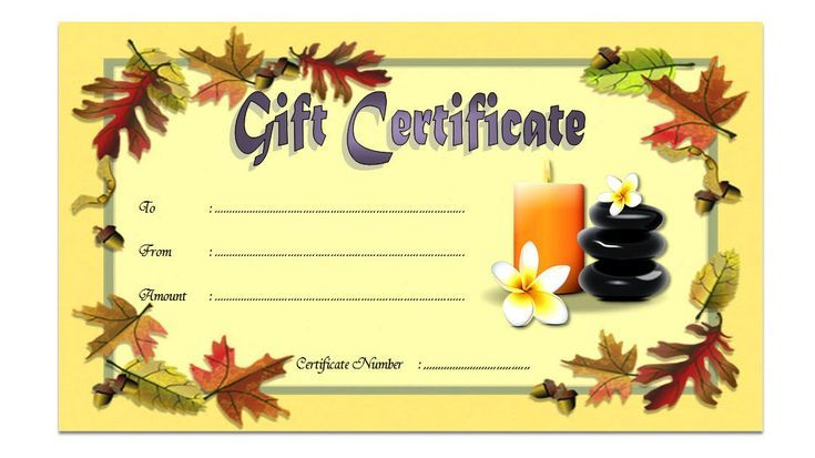 Pin On Salon Gift Certificate Ideas Free