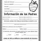 This form is great for keeping track of your students' personal information. It includes parent contact information, in case of emergency informati...