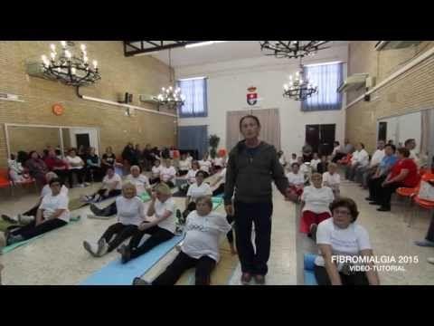 EJERCICIOS PARA FAVORECER LA FIBROMIALGIA - YouTube