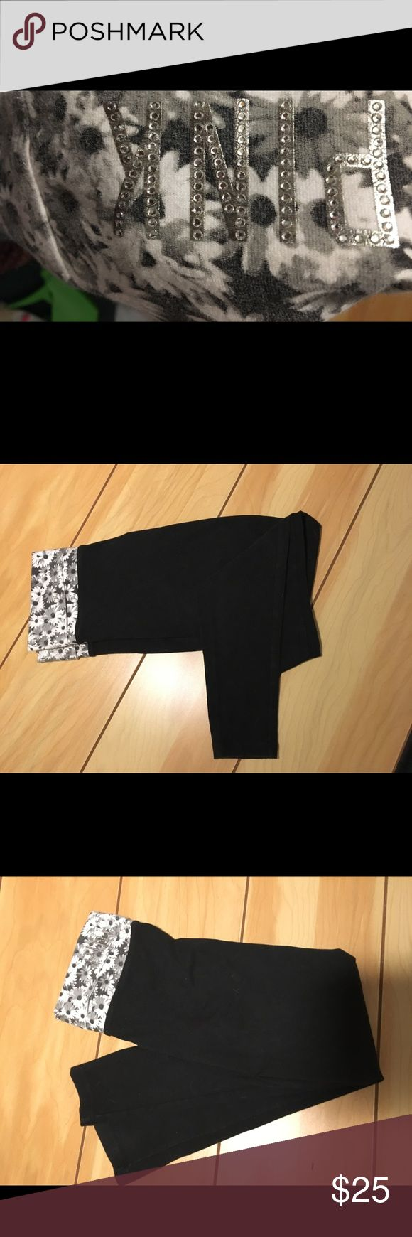 Black dress yoga pants kryptonite