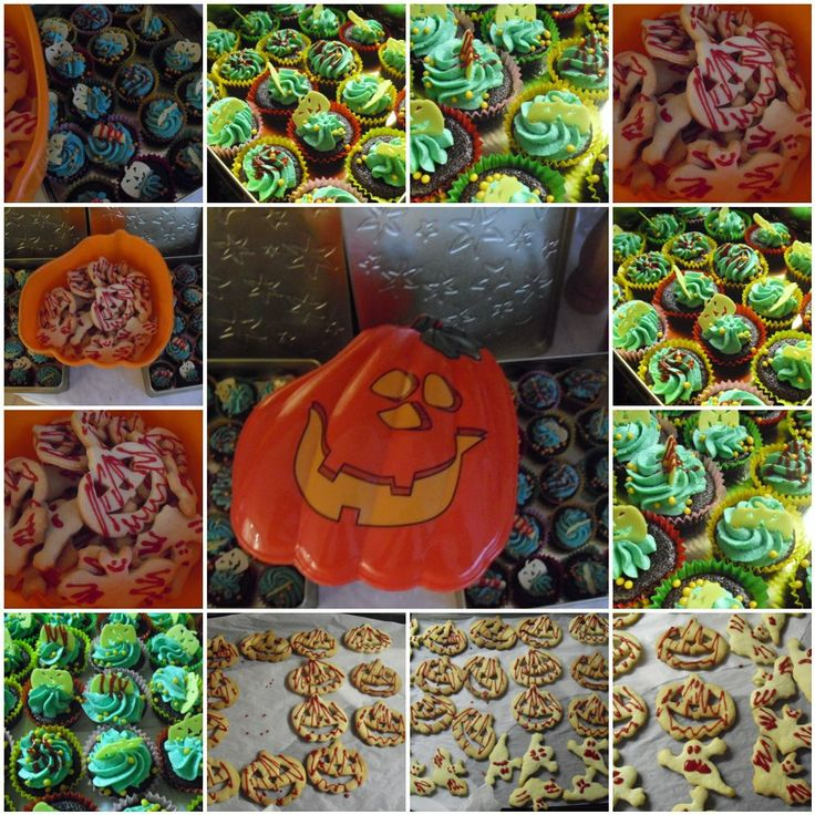 EASTER MUFFINS, LINZ GHOST