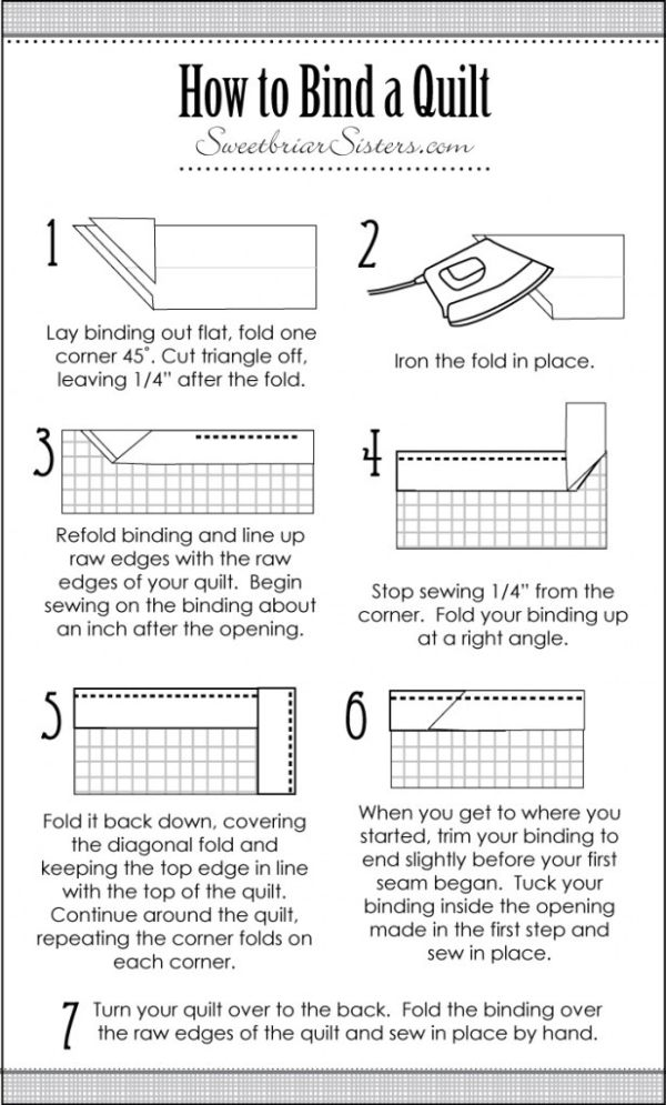 How to Bind a Quilt by autumnfrosty26