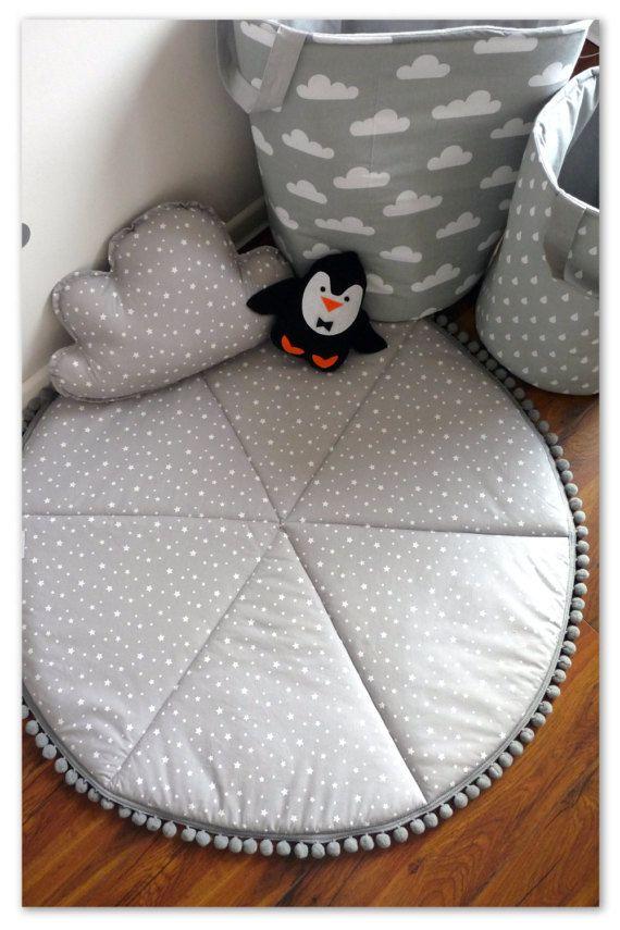 Tapis de jeu tapis de jeu bébé tapis de jeu rond par NataliWorld
