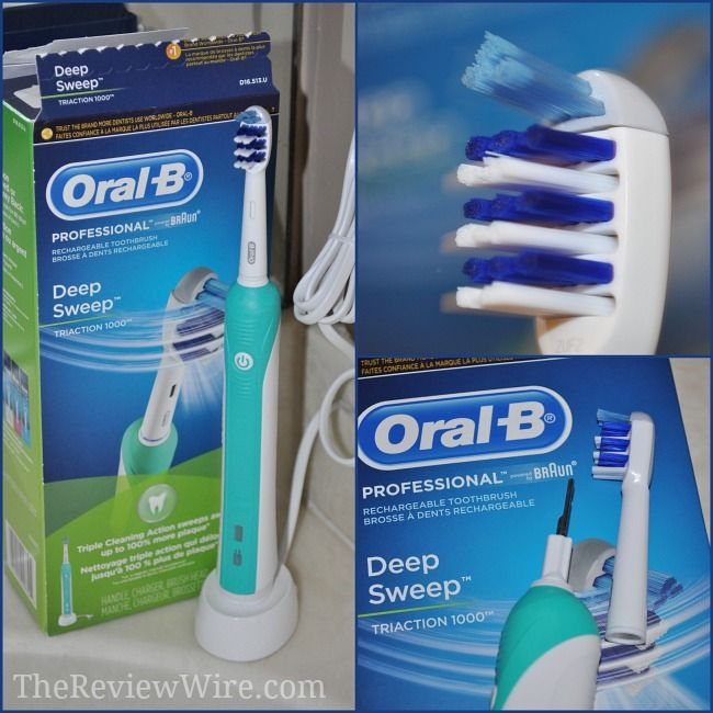 Oral-B Professional Series Review: Deep Sweep 1000 Toothbrush #oralhealth
