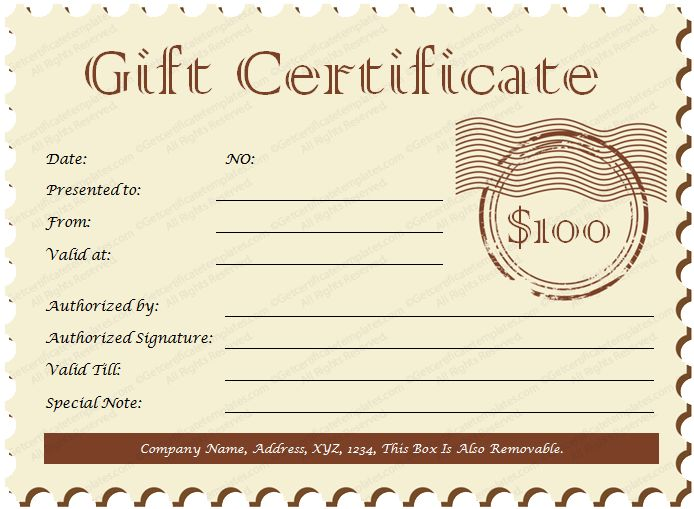 christmas gift certificate templates - Google Search December - sample birthday gift certificate template