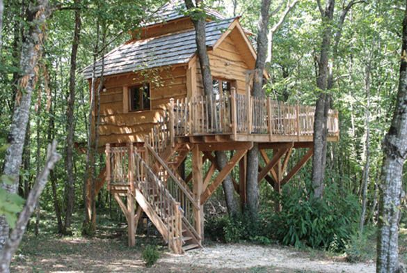 3361 Best Treehouses Et Cabanes Dans Les Arbres Images On Pinterest Treehouses Trees And Tiny