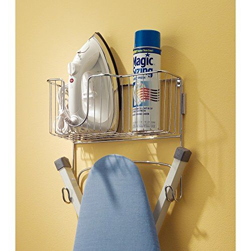 Best 25 ironing board storage ideas on pinterest for Iron closet storage