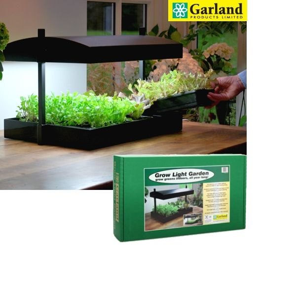 The Garland Grow Light features two high efficiency Sunblaster 24 Watt high output light consuming 20% less power than a standard domestic light bulb and giving 10,000 hours of use. 6400 Kelvin output light replicates natural sunlight ensuring maximum growth rates all year round, whatever the weather. Each bulb lasts up to 10,000 hours, is fitted with electronic ballast to avoid annoying 'buzzing' when in use and the unit is supplied with a 12 month guarantee.