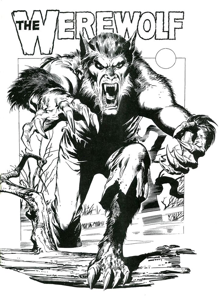 The Werewolf poster (possibly from Dynamite Magazine)