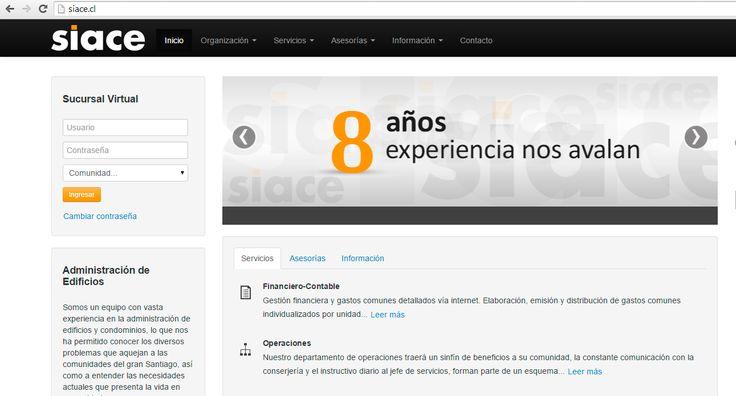 Diseño Web Siace