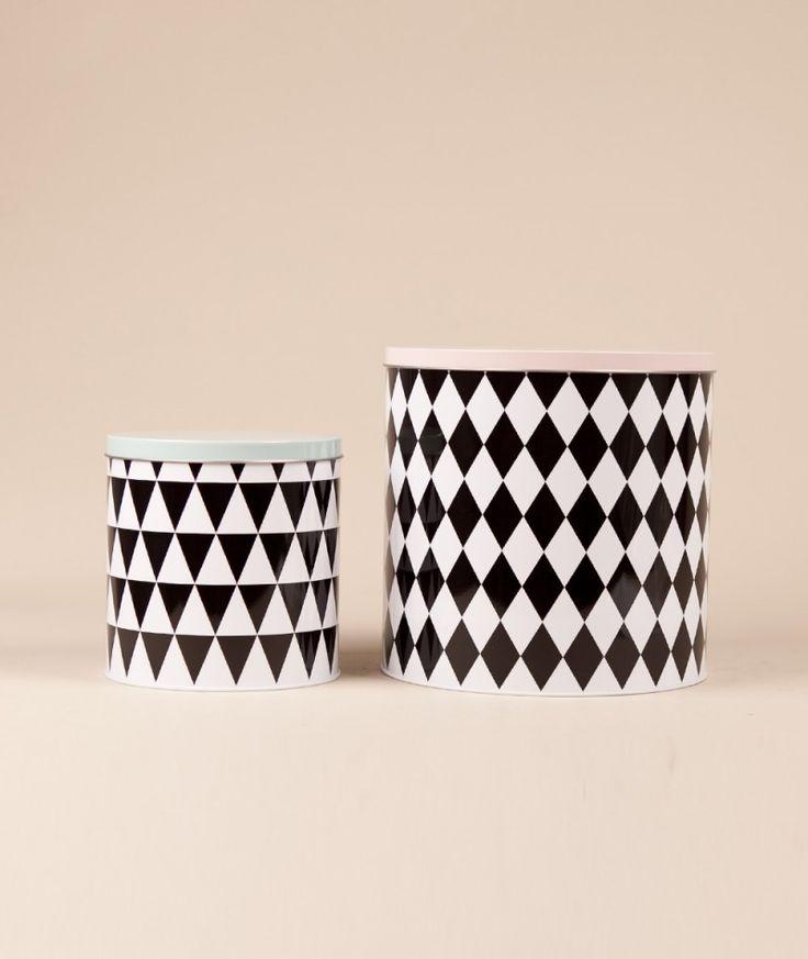 FERM Geometry Tin Box