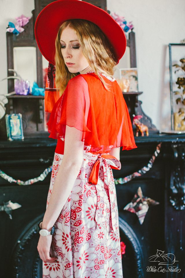 Alice Halliday 'Starlette Dress' size 10 €220 from Brocade & Lime boutique | Modeled by Jean W-Model | Photographed by White Cat Studio | Hair & makeup by Rosa O