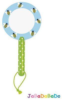 JABADABADO Szkło powiększające, zielone pszczoły Odkrywaj sekrety swojego otoczenia