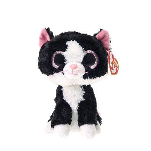 Medium TY Beanie Pepper the Cat Soft Toy
