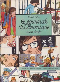 """Gamine des années 60, je raffolais de la série des livres """"Le Journal de Véronique""""."""