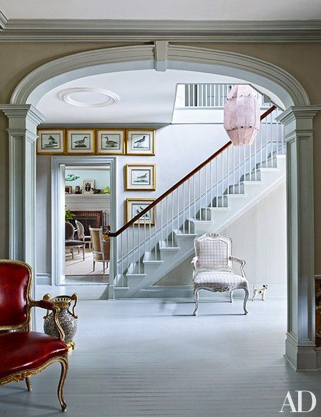 Look inside an elegant 18th century farmhouse in new york for 18th century farmhouse interiors