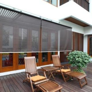 1000 ideas about outdoor blinds on pinterest motorized - Motorized exterior window shades ...