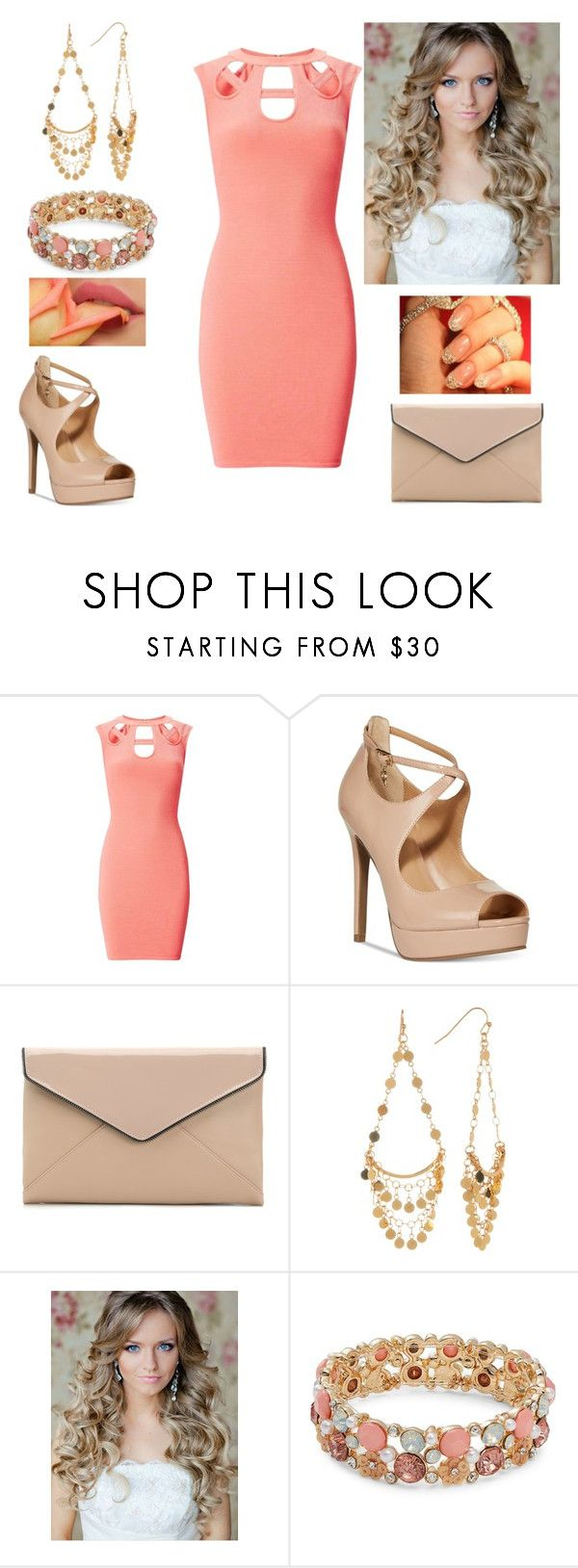 """""""You can buy everything but you can't buy love."""" by paoladouka on Polyvore featuring Miss Selfridge, Thalia Sodi, La Diva, Argento Vivo and Design Lab"""