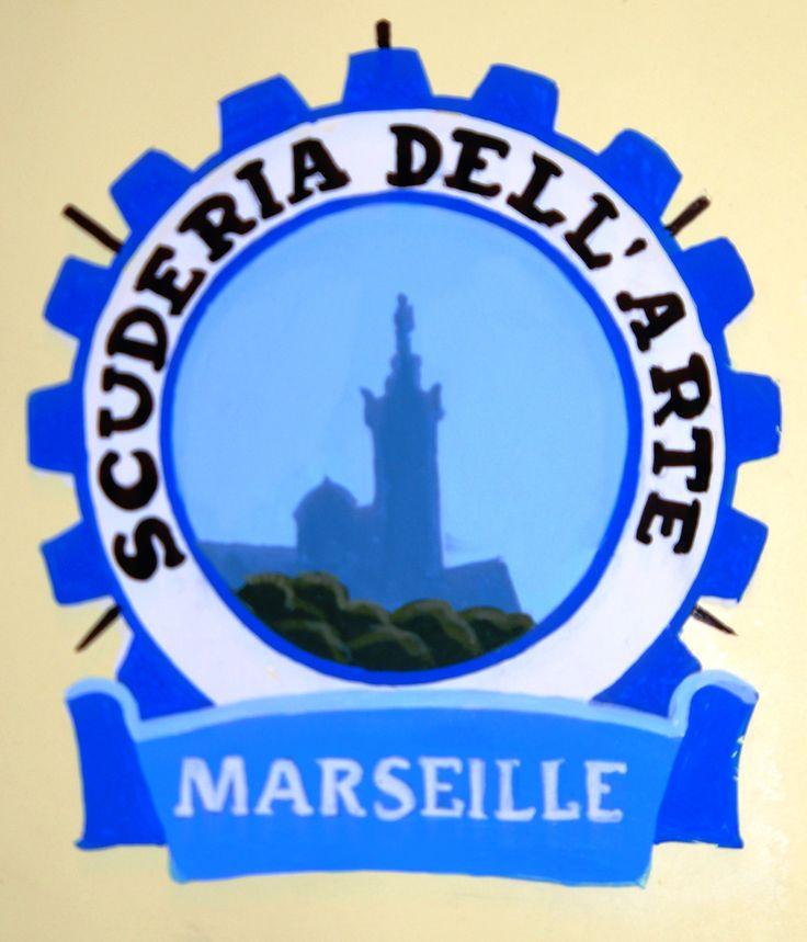 Blason Vespa Marseille