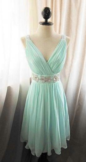 Tiffany blue dress, Tiffany prom dress, chiffon prom dress, cheap prom dress, prom dress online, cheap prom dress, 15026