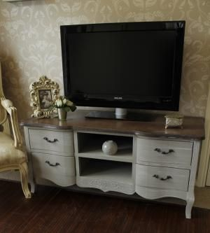 French Grey TV Unit
