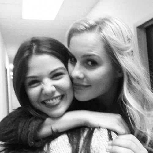 Danielle Campbell and Claire Holt
