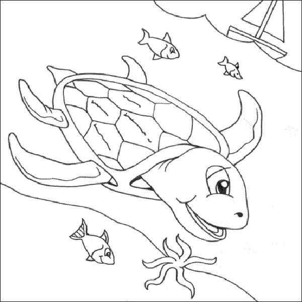 preschool underwater coloring pages - photo#7