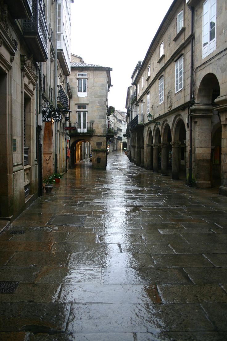 Spain_Santiago_de_Compostela_Villar_Street