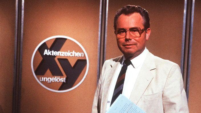 Eduard Zimmermann - Aktenzeichen XY ungelöst