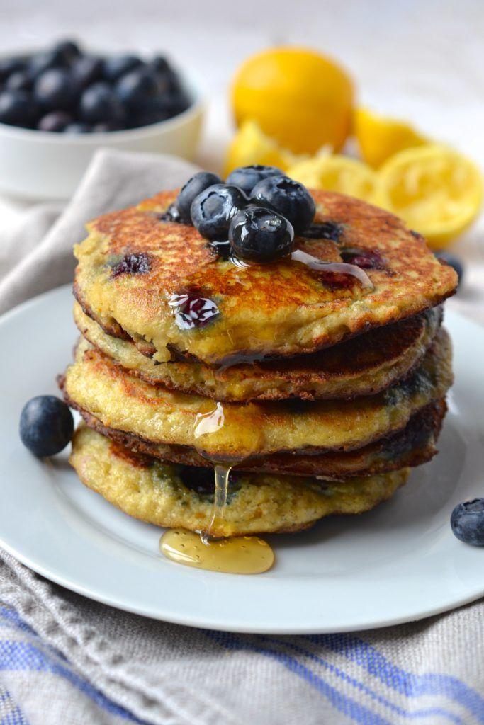 Lemon Blueberry Pancakes Recipe Lemon Blueberry Pancakes