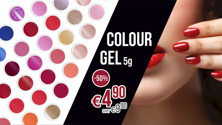 Produkt des Monats April: COLOUR GEL 5g UM € 4,90 STATT € 9,90 https://juliana-nails.at/sh…/category/produkt-des-monats-449 (Das Angebot ist ausschließlich für Kundenkartenbesitzer vom 01.04.2017 bis einschließlich 30.04.2017 gültig)