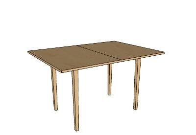 Ikea Jussi folding table - unfolded | Decorating and design ideas - New House | Pinterest ...