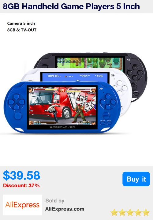 8GB Handheld Game Players 5 Inch Portable Game Console MP4 Player X9 Game Player with Camera TV Out TF Video Free Download * Pub Date: 05:38 Oct 21 2017