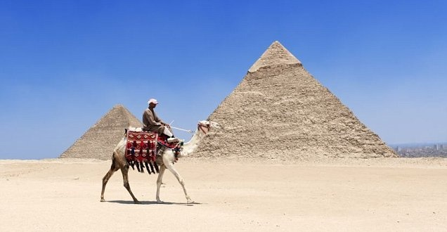 the Pyramids of Egypt, (been there!!!!)