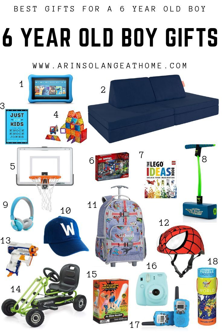 Best Gifts For A 6 Year Old Boy
