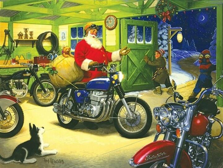 54 best Biker Christmas images on Pinterest | Christmas things ...