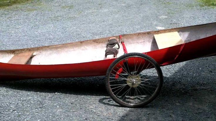 Canoe cart.