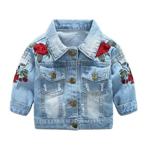 Baby Denim Jacket by Little Munchkin Boutique