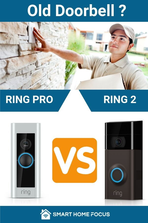 Ring 2 Vs Ring Pro Great Choice Ring Is A Great Choice For Your Video Doorbell The Quality Of The Product Ring Doorbell Doorbell Install Ring Video Doorbell