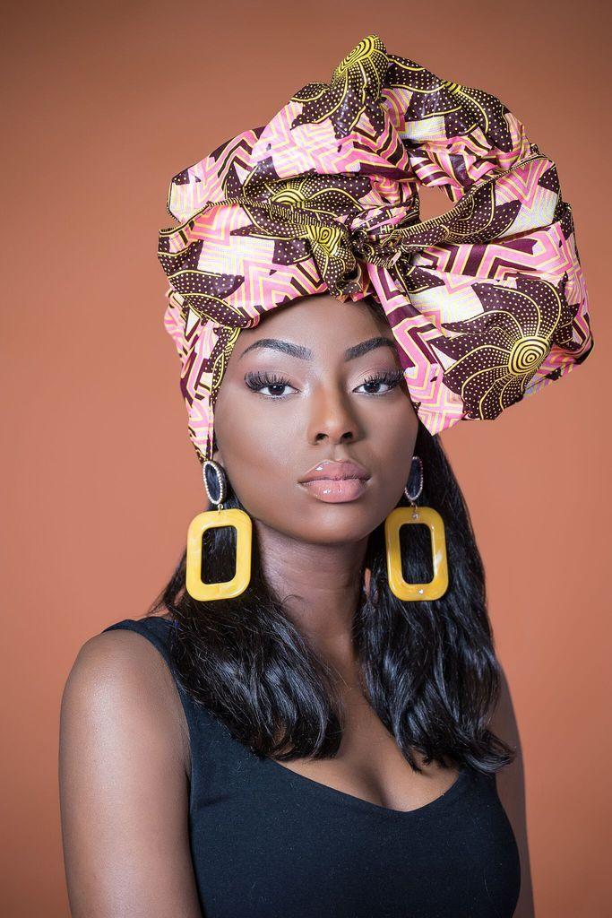 African Print Pokoo Headwrap