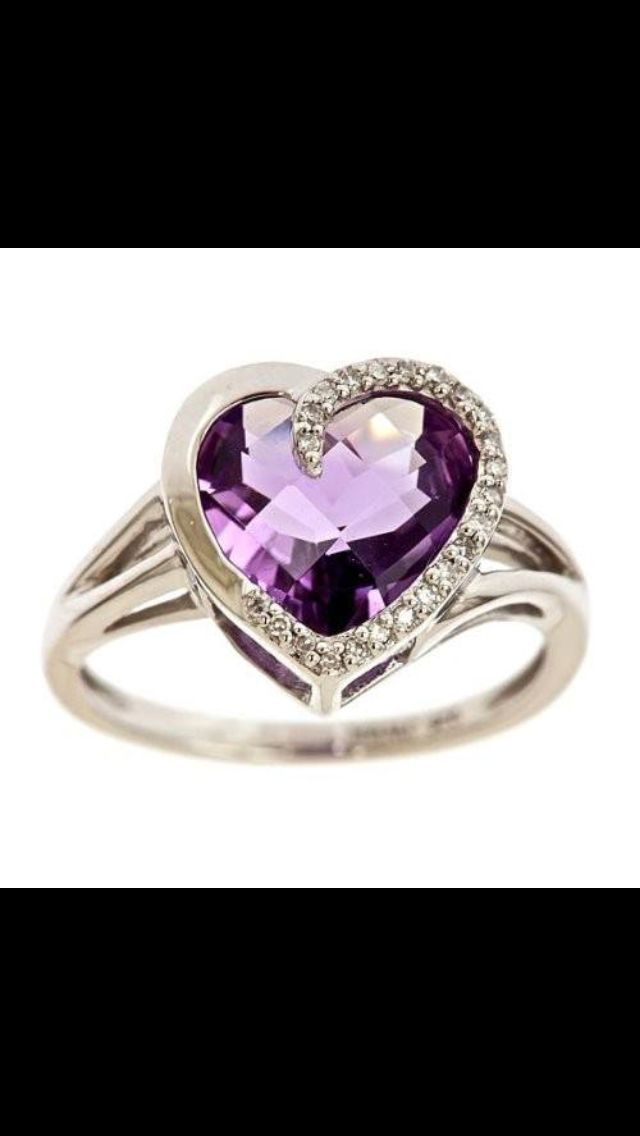 10 best replacement amethyst rings images on pinterest. Black Bedroom Furniture Sets. Home Design Ideas