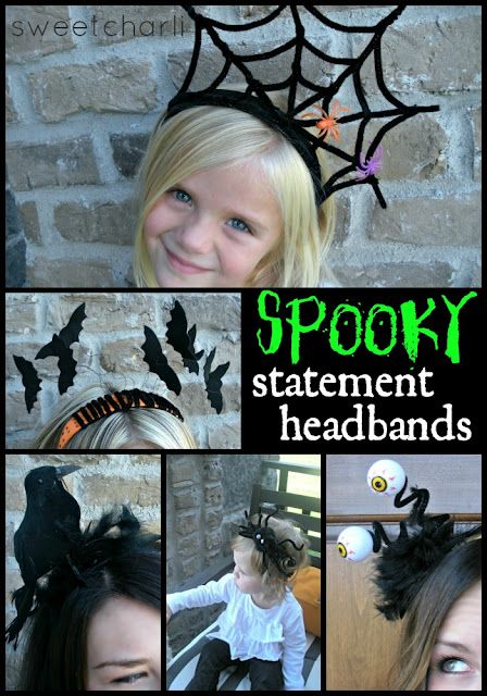 die besten 25 diy halloween headbands ideen auf pinterest. Black Bedroom Furniture Sets. Home Design Ideas