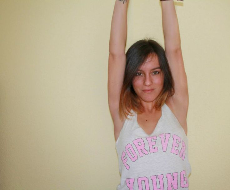 FOREVER YOUNG T-SHIRT (Primark ss14) http://caritademona.blogspot.com.es/
