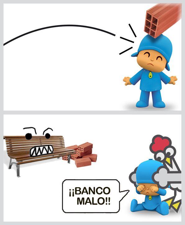 ¡BANCO MALO!