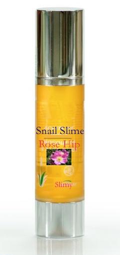 Slimy con Rosa de Mosqueta!! Permite la firmeza y elasticidad de la piel. Redistribuye la pigmentación permitiendo la eliminación de manchas producidas en los casos de varicela o viruela, y removiendo y previniendo estrías.