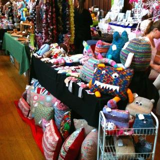 My 2nd craft stall. In Lichfield city centre.