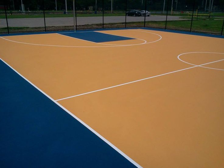 Best 25 backyard basketball court ideas on pinterest for Cost for basketball court